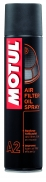 MOTUL AIR FILTER OIL SPRAY A2